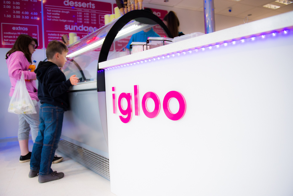 igloo falkirk, coolest place to be